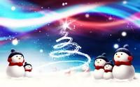 скачать обои новогодние
