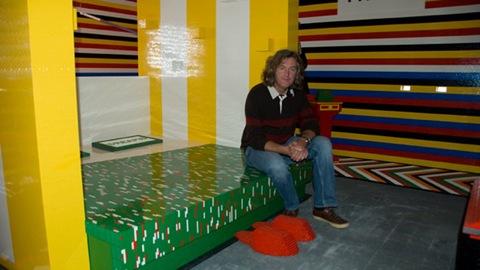 LEGO-архитектура: дом изнутри