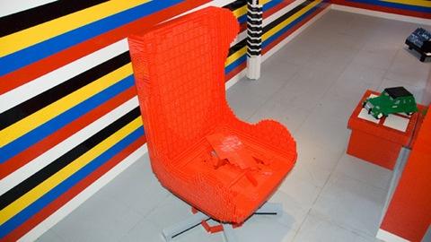 LEGO-архитектура: лего-кресло