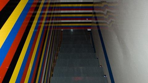 LEGO-архитектура: лестница в доме