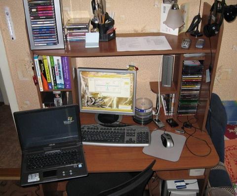 Рабочее место хакера интернетчика