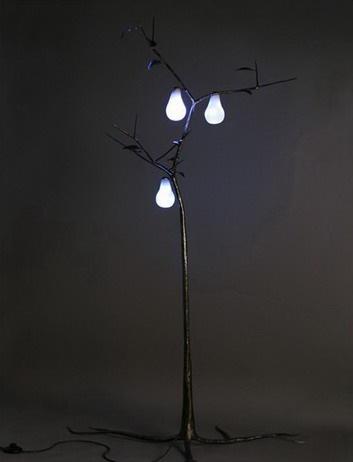 Светильник-дерево
