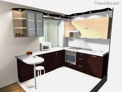 проект мебели для кухни